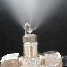 1/8 дюймов рубиновый сердечник ударная насадка, рубиновый сердечник высокого давления пальчиковая насадка, искусственный туман распылитель туман