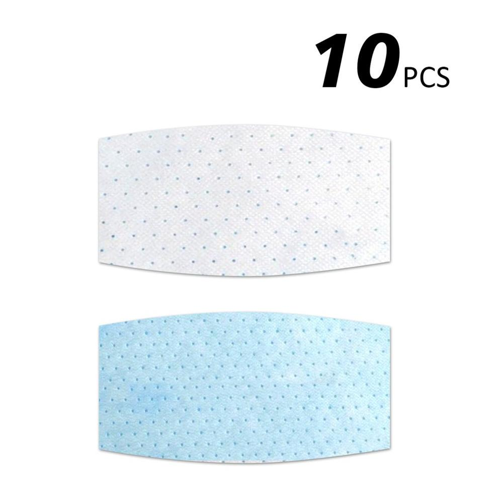10Pcs Round Square Dust Proof Anti Haze Disposable Inner Pads Filter For Mouth Mask Protective Mask Pads Filter For Mouth Mask