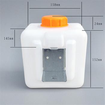 2 5L plastikowy zbiornik oleju paliwa do powietrza benzyna diesel ogrzewanie postojowe akcesoria tanie i dobre opinie Zbiorniki paliwa 0 4kg for Air Parking Heaters 40cm Engineering Plastic with Iron Install Bracket