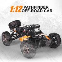 Jty Speelgoed Rc Auto 1:12 4WD Waterdichte Afstandsbediening Auto Off Road Voertuig Monster Truck Buggy Elektrische Speelgoed Voor kinderen Volwassenen|RC Auto´s|Speelgoed & Hobbies -