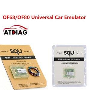 Image 2 - 5pcs SQU OF68 OF80 Universal Car Emulator SQU OF68 support IMMO/Seat accupancy sensor/Tacho Programs ECU Programmer Tool