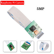 Raspberry Pi 4 Cámara 5MP 1080P 720P OV5647 Video cámara con Cable FFC para Raspberry Pi 4 3 modelo B 3B más 4B Pi3 B +(China)