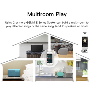 Image 5 - GGMM נייד Bluetooth רמקול חיצוני אלחוטי חכם רמקול 10W סטריאו מוסיקה רמקול תמיכת קול Alexa 2200mAh 14H מיני