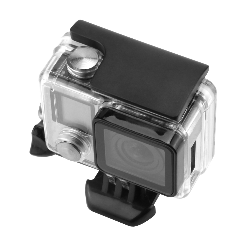 SHOOT-Plastic-Lock-Buckle-Clip-for-Gopro-Hero-3-4-Black-Silver-Cam-Waterproof-Protective-Case