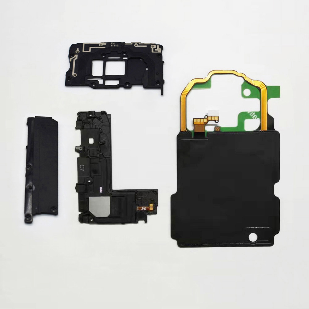4pcs/set For Samsung Galaxy <font><b>S8</b></font> G950 G955 S9 G960 S9 Plus <font><b>NFC</b></font> Wireless Charging + Antenna Panel cover + Loud Speaker image