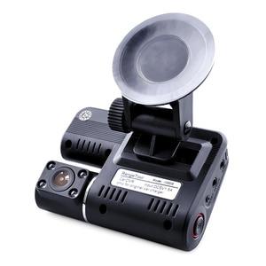 Image 3 - Двойная камера DVR i1000 Full HD 1080P, видеорегистратор с двумя объективами, видеорегистратор с 2 камерами ночного видения, Автомобильный видеорегистратор i1000s