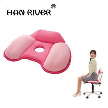 Ciało smukłe kompresyjne biodra Push Up Home fotel samochodowy do biura pośladek poduszka poduszka do masażu miękka bawełna odbita podkładka do jogi tanie i dobre opinie HANRIVER