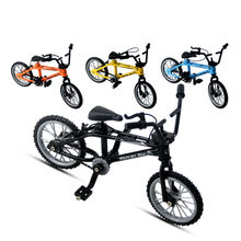Mini-finger-bmx Set Bike Fans Toy Alloy Finger BMX Functional Kids Bicycle Finger Bike Excellent Quality Bmx Toys Gift(China)