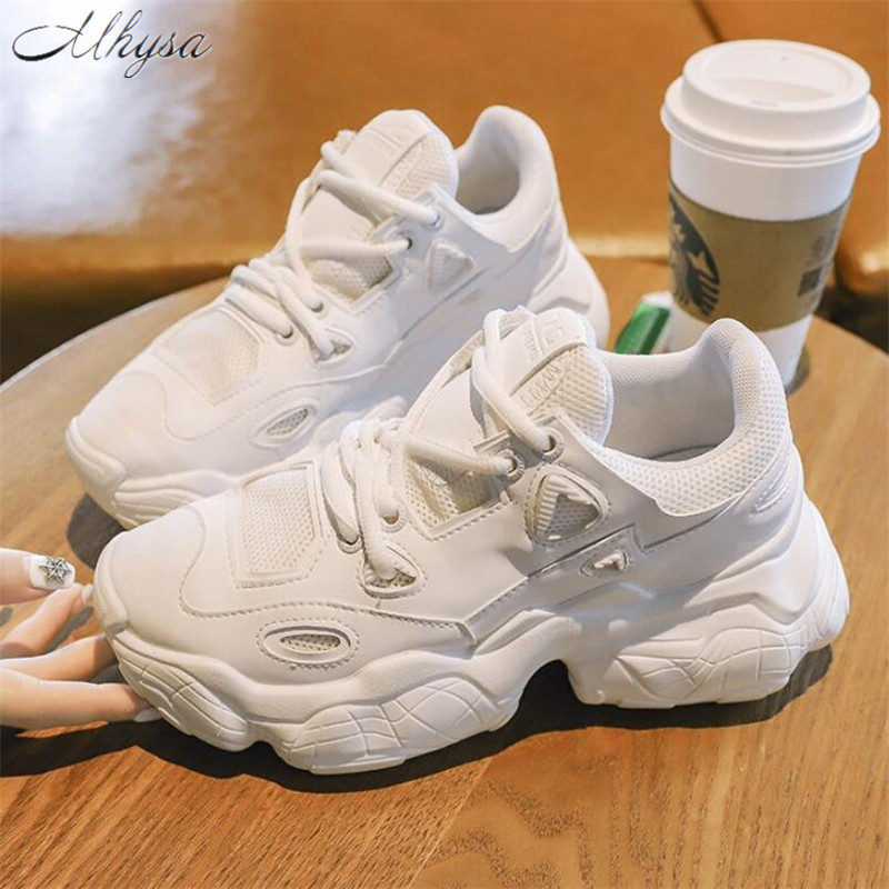 Mhysa Sneakers Shoes Platform Whiter Chunky Femme Fashion Woman Ladies T1091 Chaussure