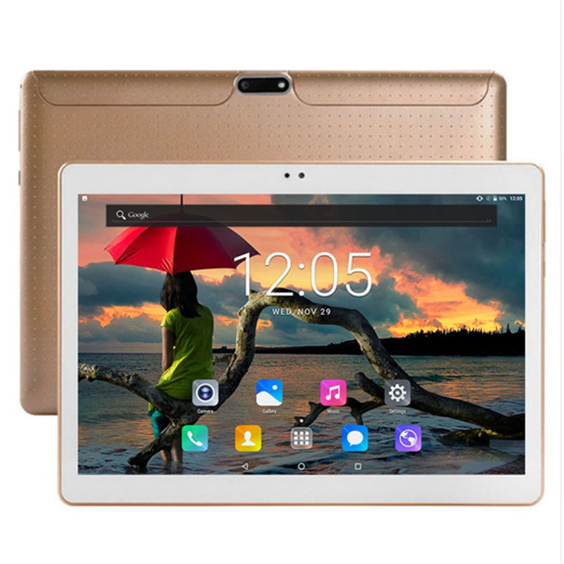 2020 New 10 Inch Google Play Tablet Pc 10 Cores Android 8.0  6G+128GB Wifi GPS Dual SIM Dual Camera  Tablet For Kids