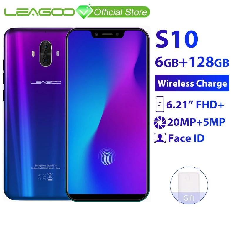 LEAGOO S10 смартфон 6,21
