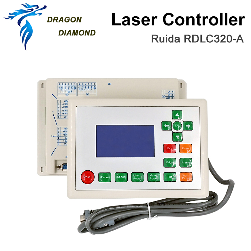 GRAGON DIAMOND Ruida RD RDLC320-A Co2 Laser DSP Controller For Laser Engraving And Cutting Machine RD320 320