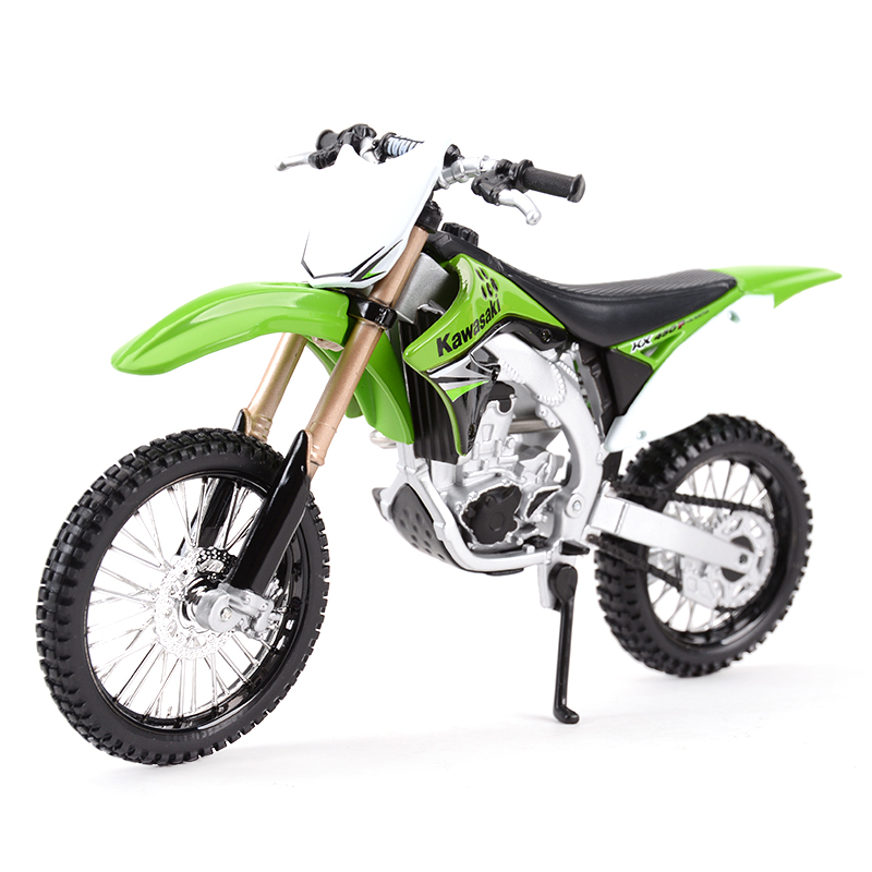 Maisto 1:12 Kawasaki KX 450F Green Diecast Alloy Motorcycle Model Toy