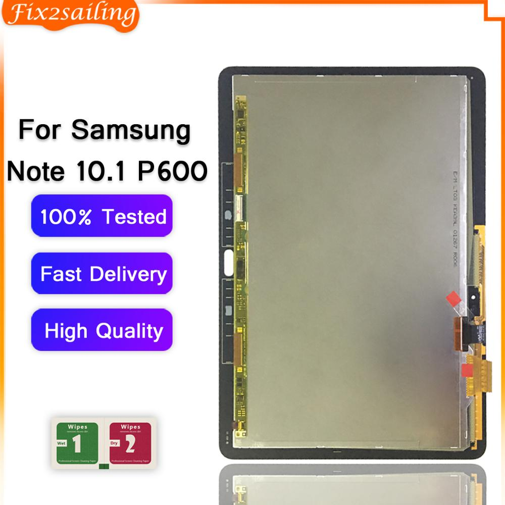 For Samsung Galaxy Note 10.1 P600 P601 P605 SM-P600 LCD Display Touch Screen Digitizer Replacement For SAMSUNG P600 P605 LCD