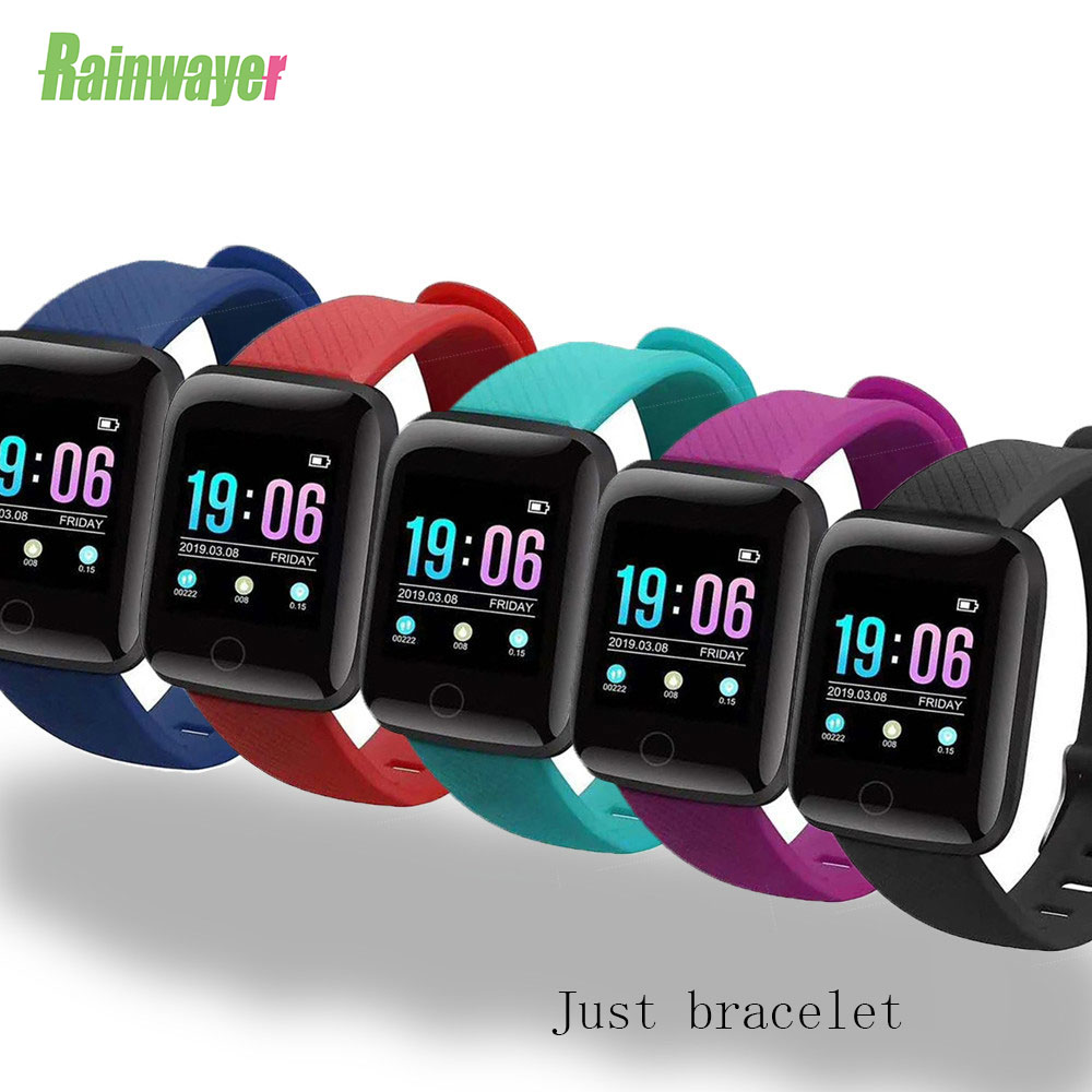 Universal D13 D18 Smart Watch Strap 116 Plus SmartWatch Band Smart Wristband For Watch Band Watchband Wriststrap Bracelet