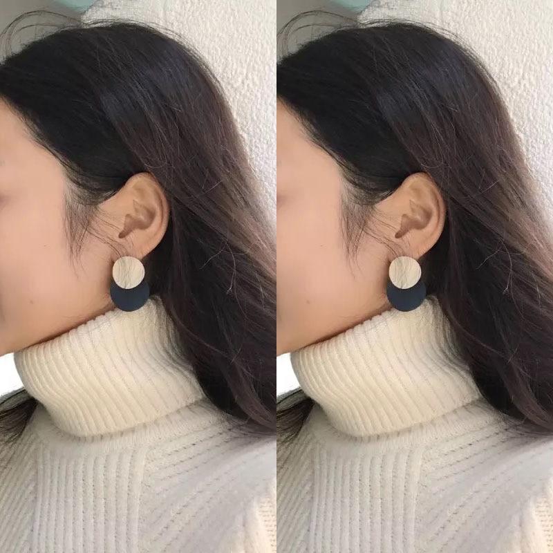 Blue Geometric Earrings 6