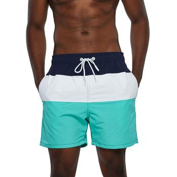 Escatch marka strój kąpielowy kąpielówki męskie szybkie suche Surf plaża szorty sportowe stroje kąpielowe męskie szorty człowiek siłownia bermudy strój kąpielowy tanie i dobre opinie CN (pochodzenie) Poliester Drukuj 03-3049e Pasuje prawda na wymiar weź swój normalny rozmiar Board Shorts M L XL XXL XXXL