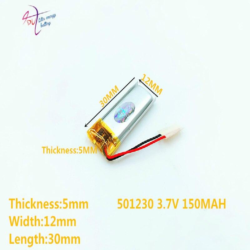 051230 501230 150mah BT150 Bluetooth Headset 3.7V Lithium Polymer Battery