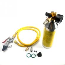 1 Set Car Air Conditioning Pipe Cleaning Tool A/C Flush Canister Gun Clean Kits Bottle For R134a R12 R22 R410a R404a цена