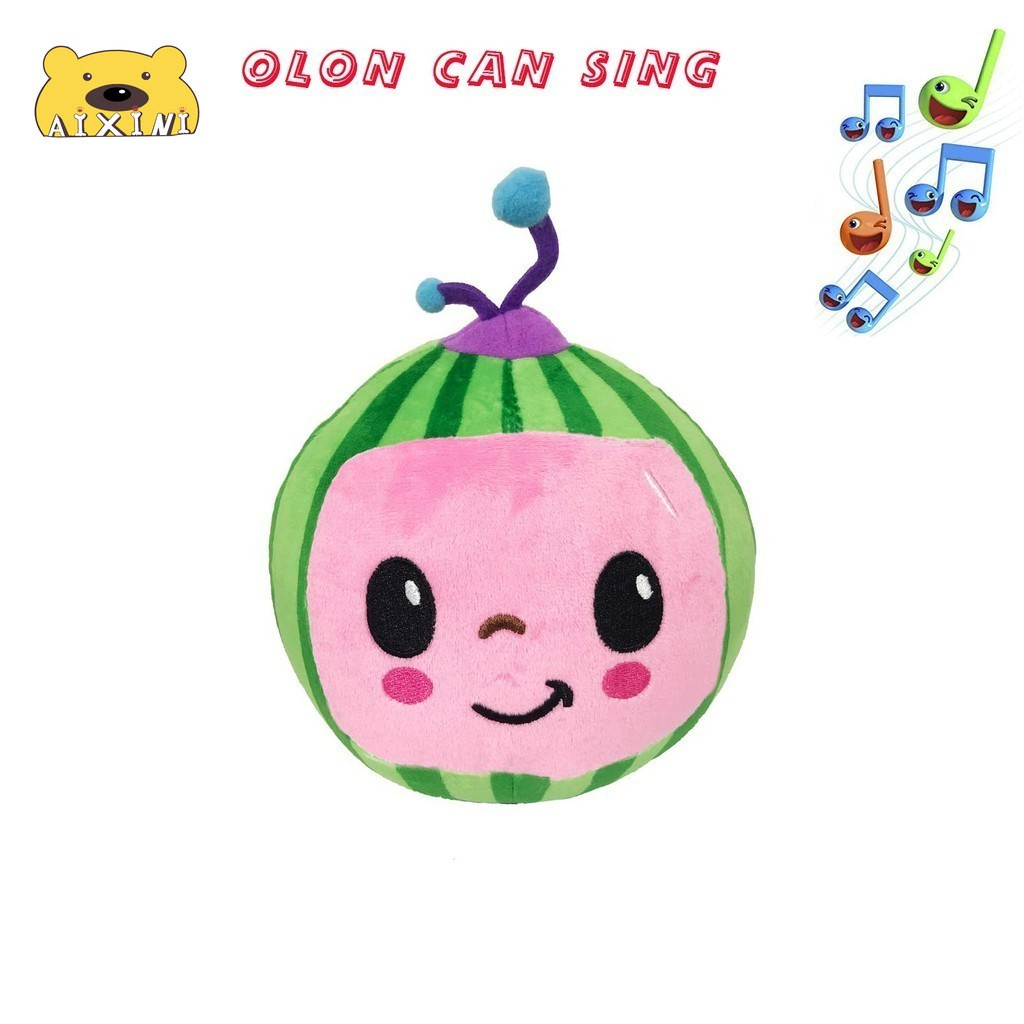 JJ Cocomelon Toys Doll Cocomelon Jj Doll Sing Kids Toys for Boys Cocomelon Bedtime Jj Music Doll Family Kid Gift Anime Plushie 3