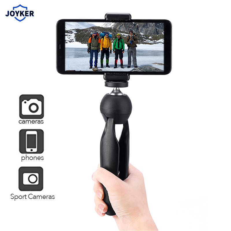 Live Broadcast Portable Handheld Mini Foldable Accessories Tripod Stand Durable Stabilizer Holder Base Universal Mobile Phone