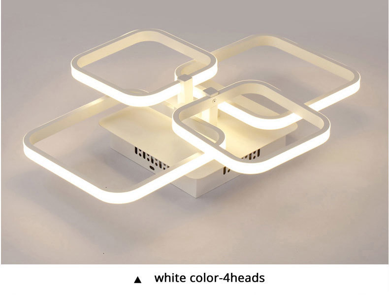 Hc0bc68b0b1d5475a9cb98271402bedb1W Acylic Ceiling Lights Square Rings For Living Room Bedroom Home AC85-265V Modern Led Ceiling Lamp Fixtures lustre plafonnier