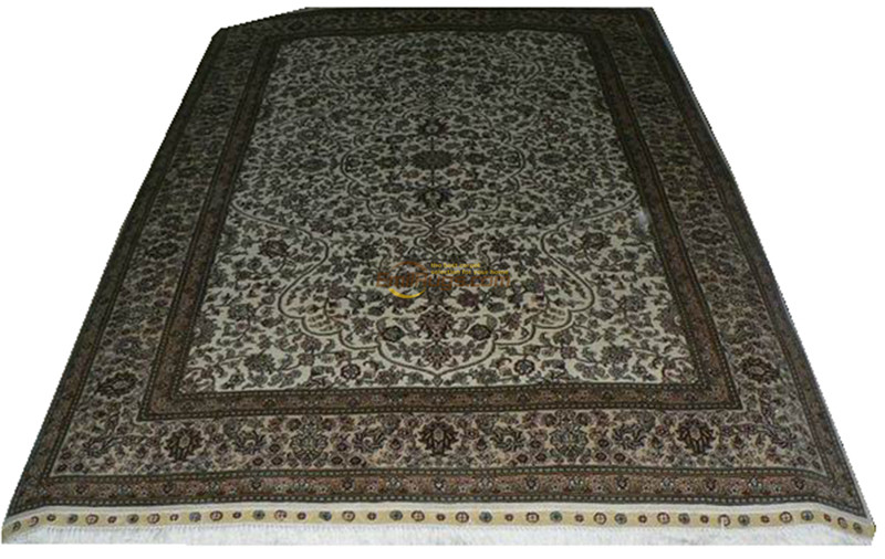 Silk Persian Rug Oriental Rugs Handwoven Carpets For Living Room Pattern .am-9a260l