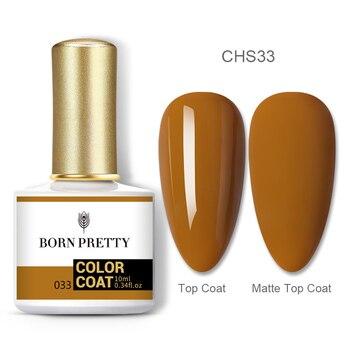 BORN PRETTY Nail Gel 120Colors 10ml Gel Nail Polish Soak Off UV LED Gel Varnish Holographics Shining Nagel Kunst Gellack 94