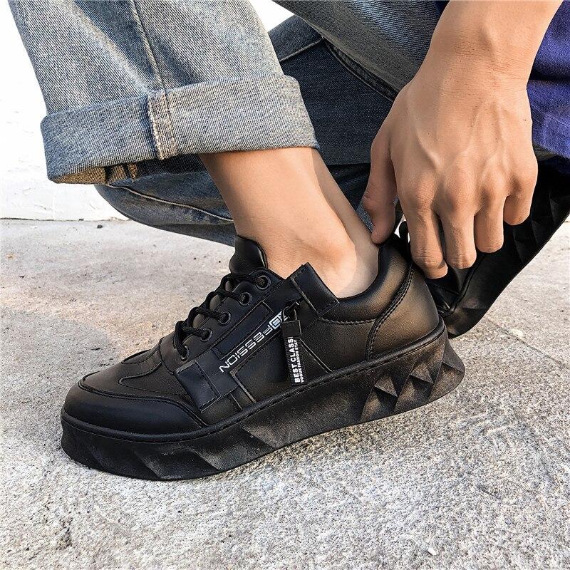 Image 4 - BIGFIRSE 男性カジュアルシューズゾルフ通気性の快適な男のファッションスニーカーローファー新 Zapatillas  Hombre 2019 男性ファッション靴    グループ上の 靴 からの メンズカジュアルシューズ  の中