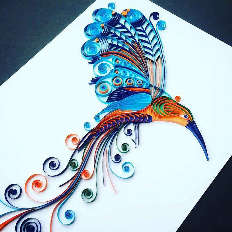 CHDHALTD Handmade Quilling Tool,DIY Quilling Knitting Board,Grid Guide for Paper Folding Crafting Paper