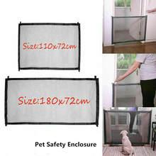 Выдвижная сетка для собак, ворота, защитные ограждения, портативные складные детские лестницы для малышей, ворота, изоляция