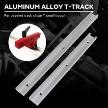 30cm Pattern Woodworking Hardware Rotated T Tracks Practical Tool Beveled Track High Quality Modification Threaded Bolt