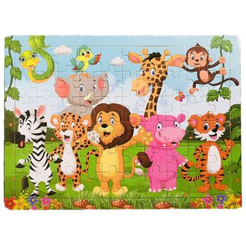 Kids Kids Puzzles Age 3-8   60 Piece Puzzles Preschool Educational Learning Toys for Toddlers   Wooden Jigsaw Puzzles Toy Set of фото