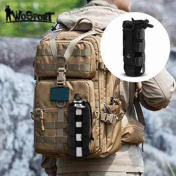 Tactical Molle Adjustable Water Bottle Pouch Holster Carrier Outdoor Military Water Bottle Kettle Bag Camping Hiking Travel Kit camping sports water bag new outdoor tactical military molle system bottle bag kettle pouch holder