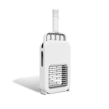 2 w 1 elektryczna packa na komary USB ładowanie Mosquito zabójca much lampa przeciwko komarom Swatter Mute przenośne wielofunkcyjne tanie i dobre opinie Electric Insect Killer White 180mAh 360-400nm