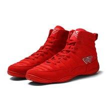 Боксерская обувь для борьбы с резиновой подошвой дышащие армейские