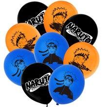 18pcs Set 12 Inch Anime Naruto Uzumaki Theme Party Children 'S Birthday Latex Balloon Baby Shower Decoration Kids Toys Gifts