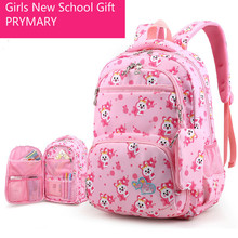 kids backpack girls Schoolbags Waterproof School Backpacks For Teenagers Girls Kids Bag Backpack Children School Bags Mochila цены