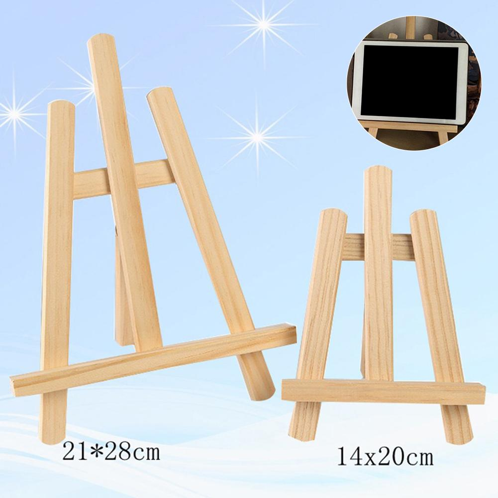 Wooden Adjustable Painting Drawing Stand Easel Frame Artist Tripod Display Shelf