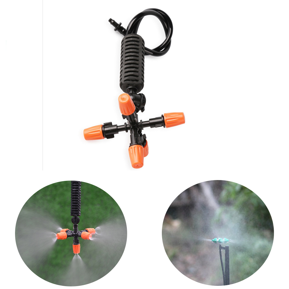 Hangingg Auto Drip Irrigation Sprinkler For Garden Greenhouse Plant Vegetables Misting Nozzle Cross Fog Watering Equipment