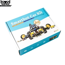UNO Project Smart Robot Car Kit with UNO R3 / Ultrasonic Sensor /Bluetooth module / Remote Educational Toy Car for ARDUINO