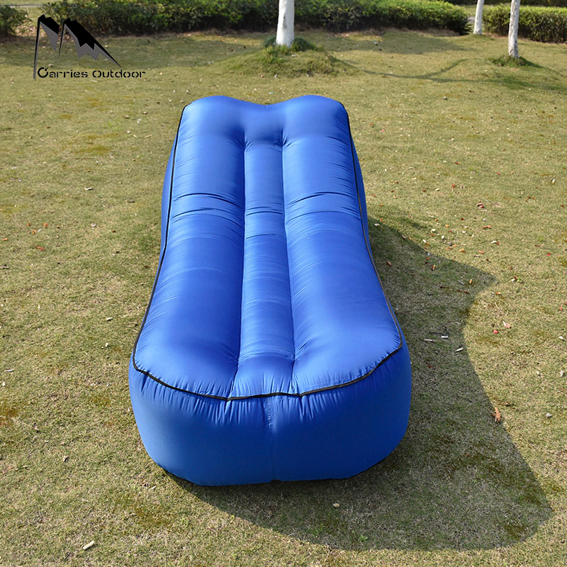 Fast Inflatable Air Sofa Bed Sleeping Chair Inflatable Couch Lazy Relaxing Beach Sofa Lay Bag 2019 Trend Outdoor Furniture 3