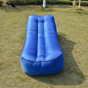 Image 4 - Fast Inflatable Air Sofa Bed Sleeping Chair Inflatable Couch Lazy Relaxing Beach Sofa Lay Bag 2019 Trend Outdoor Furniture
