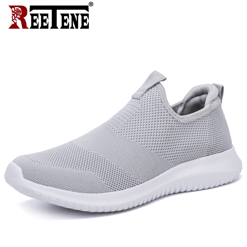 2020 Cheapest Men Casual Shoes Men Sneakers Summer Running Shoes For Men Lightweight Mesh Shoes Breathable Men'S Sneakers 38-48 1