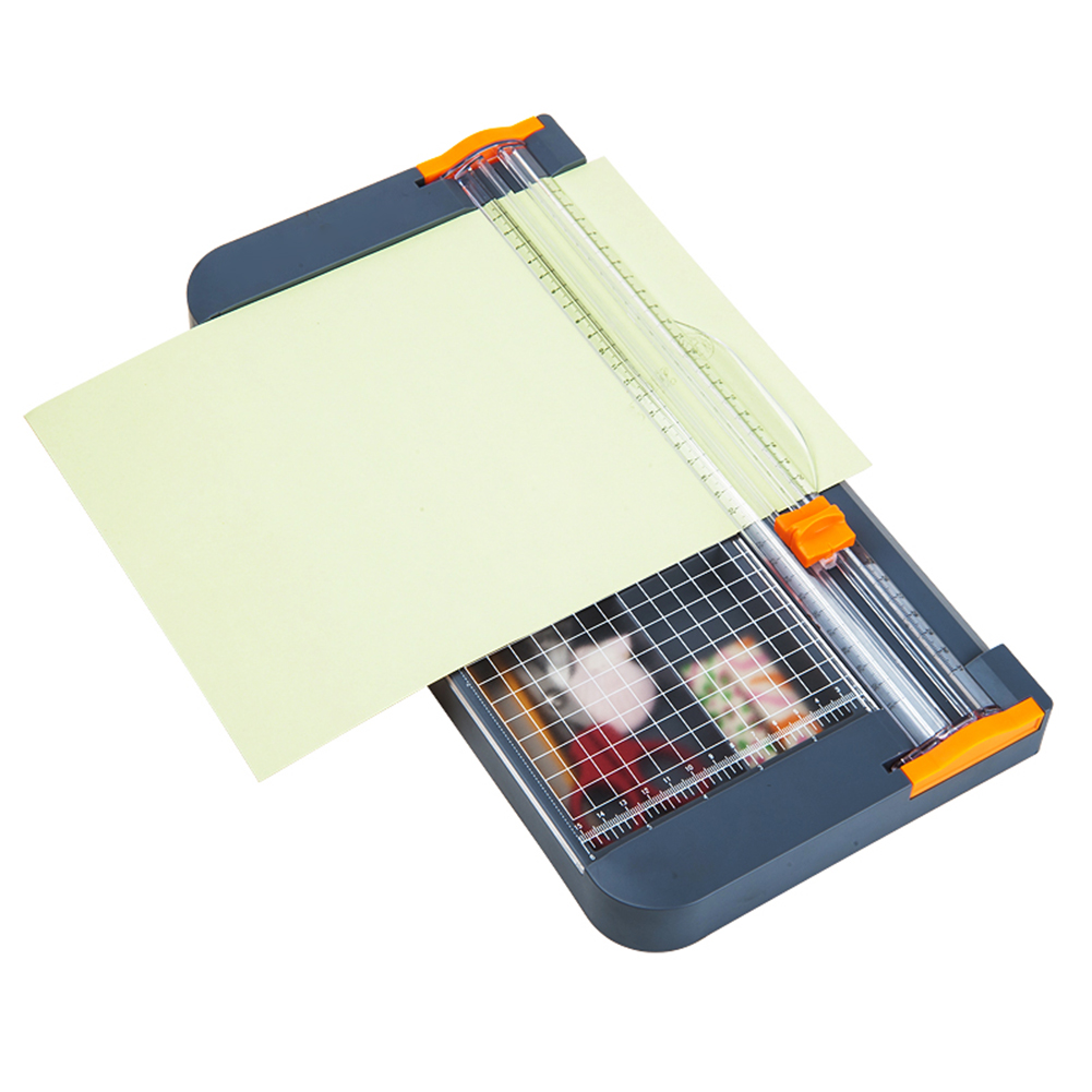 A4 Paper Trimmer Cutters Guillotine Photo Cutter Cutting Mat With Storage Box And Pull-out Ruler For Photo Paper Labels Cutting