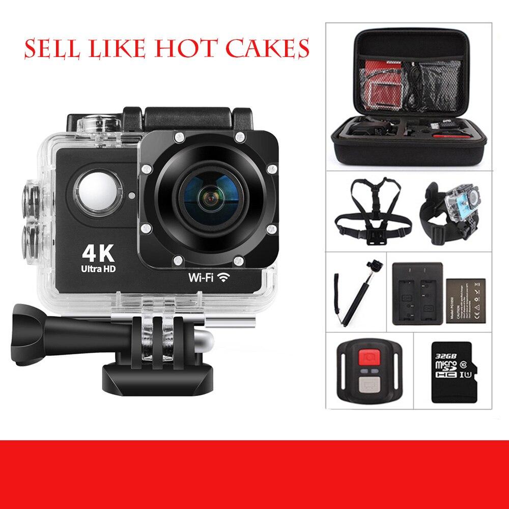 Caméra de sport Ultra HD 4K/30fps WiFi 2.0
