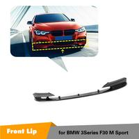Frontschürze Abdeckung Carbon Fiber Für BMW F30 3 Serie F30 M TECH 2014 2018|Stoßstangen|Kraftfahrzeuge und Motorräder -