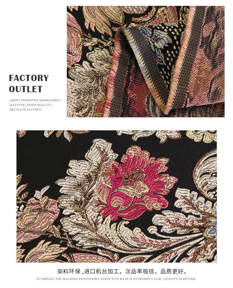 europeu e americano tingido tecido jacquard tecido vestido fábrica atacado