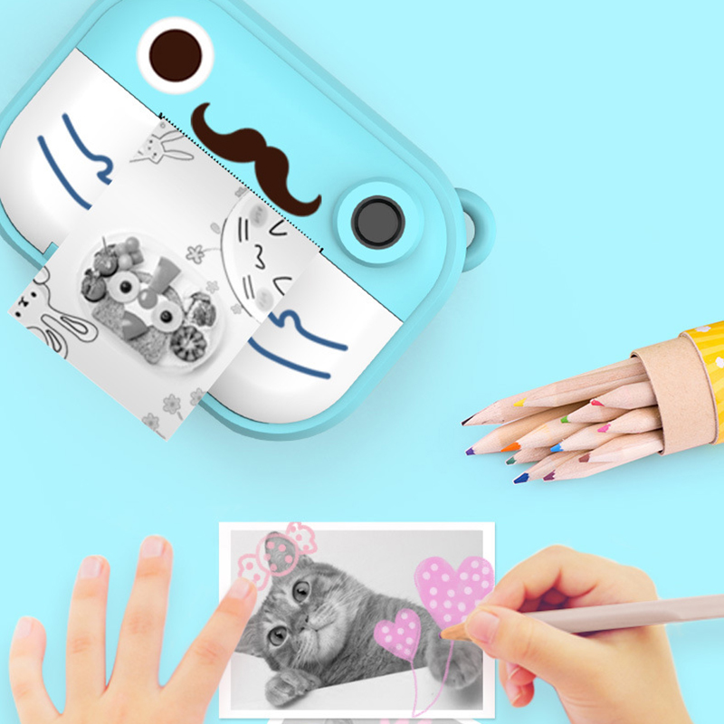 DIY Kids Camera For Instant Photo Camera Children's Camera Prints Mini Toys For Children Baby Gifts
