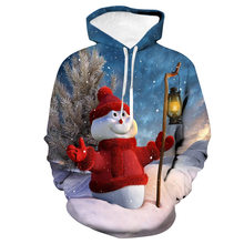 QZHIHE Unisex Men Women Christmas Sweater Vacation Santa Elf Funny Christmas Snowman 3D Printed Autumn Winter Tops Clothing(China)
